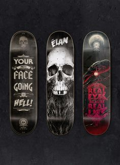 Elan Skateboards - Supervixen Studios Portfolio - The Loop