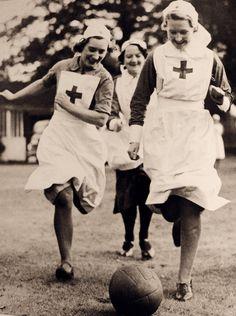 Vintage Nurses Red Cross. See: http://pinterest.com/pin/287386019943142863/