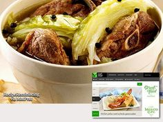 """""""Mutton in cabbage"""" / Fårikål - A traditional Norwegian recipe from the popular food site MatPrat Mutton in cabbage"""" is Norway's undisputed national dish – voted by listeners of a popular radio program about 40 years ago. """"Mutton in cabbage"""" is both homely and great party food. http://recipereminiscing.wordpress.com/"""