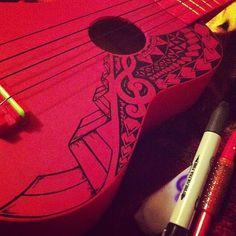 sharpie ukulele