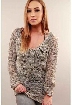 Beach Boardwalk Sweater