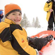 7 Ways to Have Fun in the Snow---by Family Fun magazine