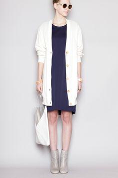 Totokaelo - Jil Sander - Fine Knitted Dress - Ink