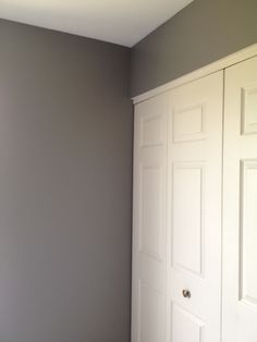 dream paint color!  Anonymous by Behr...perfect gray, no blue or brown undertones