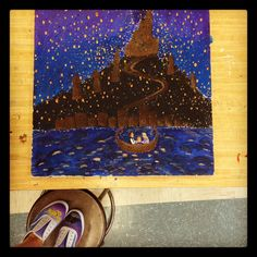 painting of Tangled!