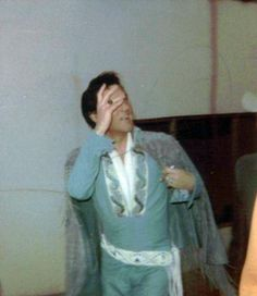 Elvis arrives at the Houston Astrodome, 1970.