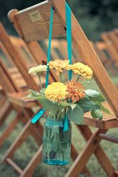 pretty ceremony decoration