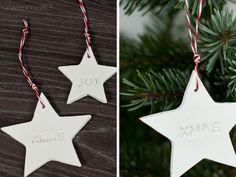 :: zweimalB :: DIY - Anleitung für Geschenke - Anhänger / Gift Tags aus selbsthärtender weißer Modelliermasse