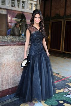 this dress was used in Selena Gomez's music video Who Says. I like the style