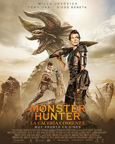 Monster Hunter Monster Hunter, New Movie Posters, New Poster, Tony Jaa, See Movie, Milla Jovovich, Wonder Woman, Upcoming Movies, Superhero