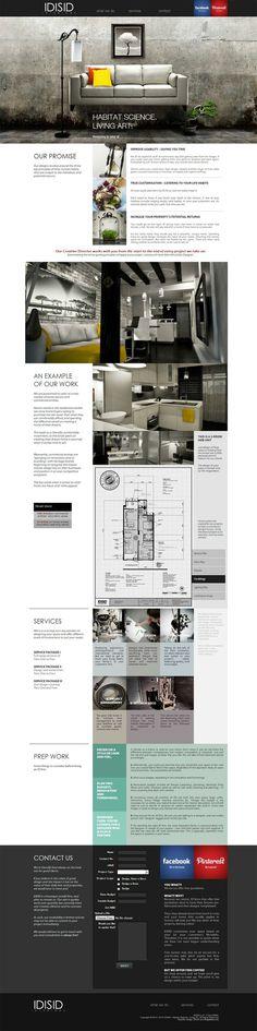 Cool Layout Magazine Scroll IDISID Interiors
