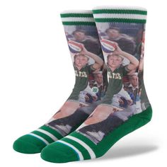#FashionVault #stance #Men #Accessories - Check this : Stance Larry Bird 2 S/M NBA LEGENDS Socks for $ USD
