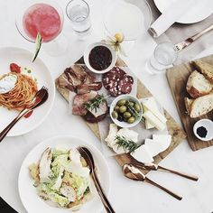 WEBSTA @ sincerelyjules - Amazing spread   silly convos.  @smithhotels