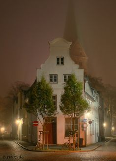 Lübeck St. Aegidien im Dunst