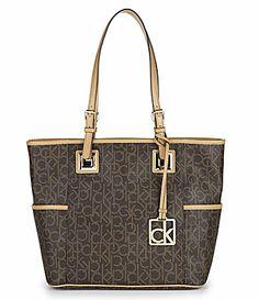 38a9951e3dc02 Calvin Klein Hudson Tote Bag #Dillards $158.00