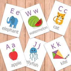 Free Alphabet Flash Cards
