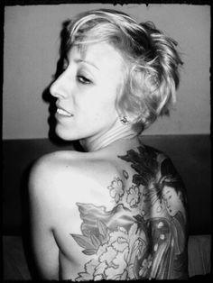 Sexy girl tattoo