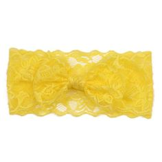 Hot Sale Handmade Lace Bow Headband For Baby Girls Fashion Lace Hairband