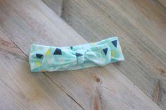 Tie Knot Baby Headband // Baby Tie Knot Headband by YoureSewTulle