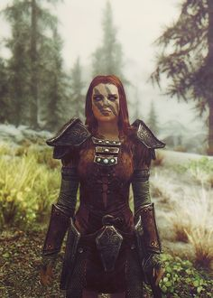 Aela The Huntress #skyrim