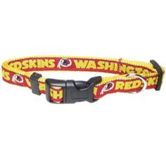 Pets First NFL Washington Redskins Collar, Small *** Click image for more details. (This is an affiliate link and I receive a commission for the sales)
