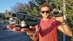 DRONE BATTLE GoPro Karma vs. Phantom 4 - YouTube