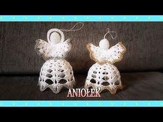 Crochet Angels, Crochet Earrings, Christmas Ornaments, Holiday Decor, Crochet Christmas, Diy, Needlepoint, Easter, Ornaments