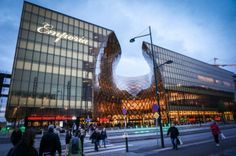 Emporia is one of Scandinavia's biggest shopping malls located near Malmö Arena and Hyllie railway station in Malmö in southern Sweden. Shopping Malls, Adventure Travel, Sweden, Louvre, Europe, Building, Adventure Tours, Buildings, Louvre Doors