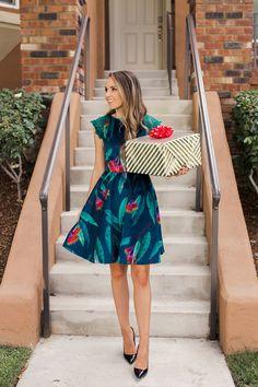 Celosia Velvet dress by Merrick's Art   Spoonflower Blog