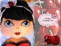 8 candy dolls + cereja + amanda pin