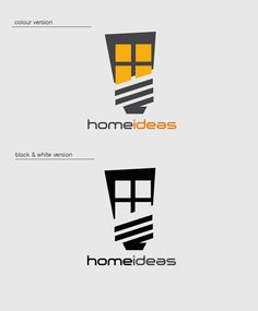 Home ideas logo by Kremena Pehlivanova, via Behance