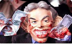 Tony Blair e JPMorgan: come appropriarsi del benessere altrui attraverso la manipolazione dei mercati.  La JPMorgan Chase è l'architetto – del quale non si fa mai il nome – di frodi, corruzioni e del più grande Schema Ponzi della storia. Il suo fine è di rubare ed appropriarsi del benessere altrui attraverso la manipolazione dei mercati