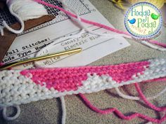 http://hodgepodgecrochet.wordpress.com Tapestry Crochet Made Easy
