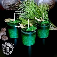 YULETIDE BLESSINGS - Artisan Botanical Ritual Spell Votive Candle