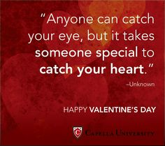 Happy Valentines Day from Capella University.