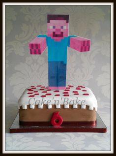 Minecraft Cake, Cake