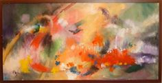 "Amsterdam Whitney Gallery - Donald Brown  ""Wild Birds""  Oil on Canvas  18"" x 36"""