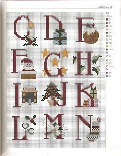 <3 alphabet Noël 2/3