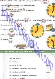 6. Sınıf İngilizce Ada Matbaa Yayınları Ders Kitabı Cevapları Sayfa 12   6. Sınıf İngilizce Ada Matbaa Yayınları Ders Kitabı Cevapları Sayf... Cheese Toast, Student, School
