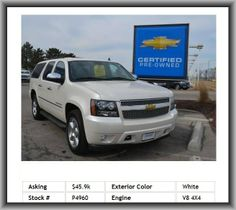 2013 Chevrolet Suburban LTZ 1500 SUV  Cooled Front Seat(S), Climate Control, Power Windows, Navigation From Telematics, Satellite Radio, Luggage Rack, Abs, Four Wheel Drive