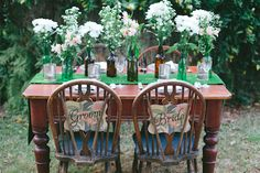 Wedding Reception styling inspiration. http://www.forevaevents.com.au/portfolio/hay-were-hitched/