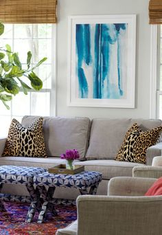 Great measurement guidelines and tips for how to perfectly hanging art- Claire Brody Designs