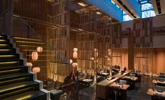 The latest endeavour from Hong Kong-based architect Andre Fu is a two-level contemporary Japanese restaurant sporting a mezzanine level dedicated to a hip sake bar. Keeping with Japanese tradition, the entrance - an elegant hallway lined with bamboo...