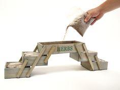 jardinera plegable en varias alturas siembra tus plantas aromticas para cocinar mini