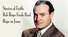 By 1929 Bob Hope, he was becoming a well-known comedian. From there, his career took off in radio, film, and TV. In NYC he met and fell in love with. Hope In Jesus, Bob Hope, News Articles, Christian Faith, Comedians, Falling In Love, Catholic Register, Movie Tv, Laughter