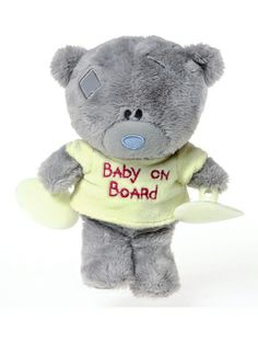 Tiny Tatty Teddy Me to You Baby on Board Window Teddy