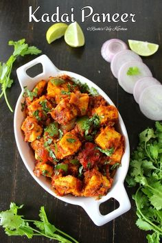 Kadai Paneer, the healthy recipe. Paneer Dry Recipe, Paneer Recipes, Meat Recipes, Indian Food Recipes, Vegetarian Recipes, Healthy Recipes, Ethnic Recipes, Chaat Recipe, Masala Recipe