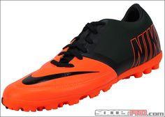 Nike FC247 Bomba Pro II Turf Soccer Shoes - Total Orange with White...$71.99