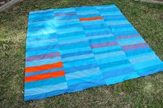 Quilt top complete! by handmadebyalissa, via Flickr