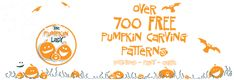 The Pumpkin Lady has made her 700+ pumpkin carving patterns FREE!  I've bought them from her for years and they are cute and so much fun! She also has patterns that feature special occasions, babies, holidays, etc.